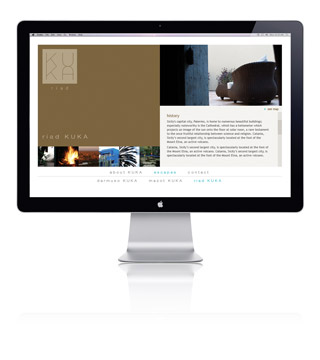 Web design for KUKA