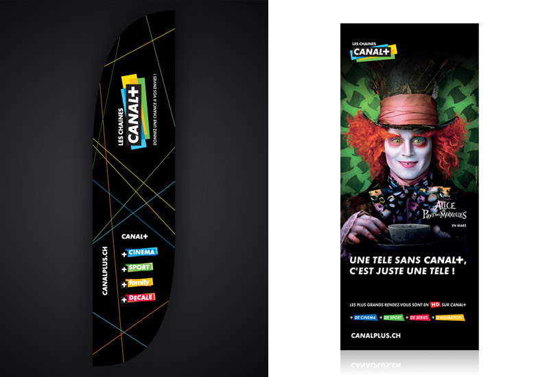 CANAL+ printed materials